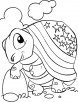 4th of july tortise coloring page