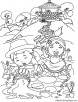 Jack and Jill Nursery Rhymes Coloring Page