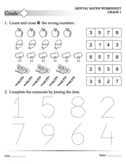 Mental maths activities year 4 | Maths Worksheets For kids