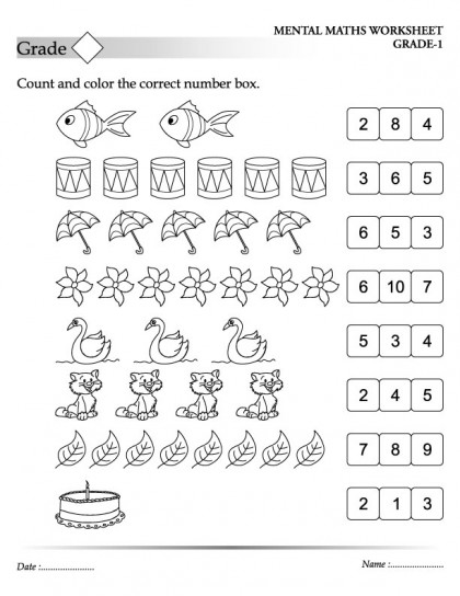 Printables Worksheets For 5 Year Olds printable worksheets for 5 year olds scalien maths 7 olds