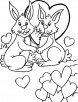 Why we left behind, my dear Valentine coloring page