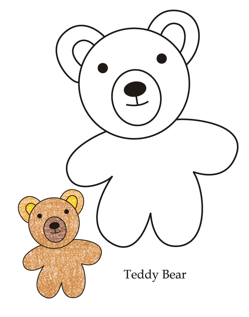 0 level teddy bear coloring page download free 0 level teddy