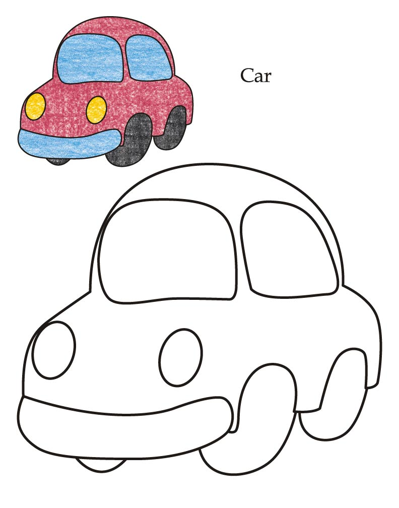 0 level car coloring page download free 0 level car coloring