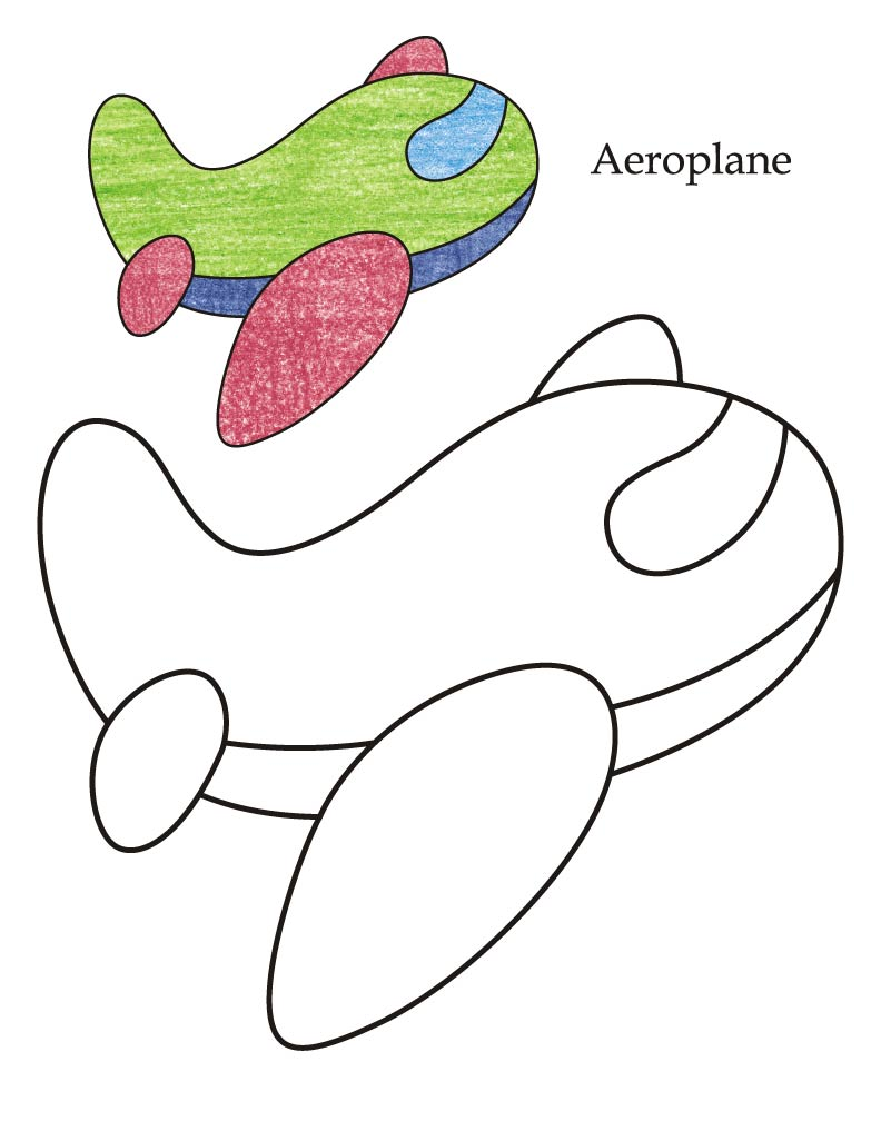 0 Level airplane coloring page : Download Free 0 Level ...