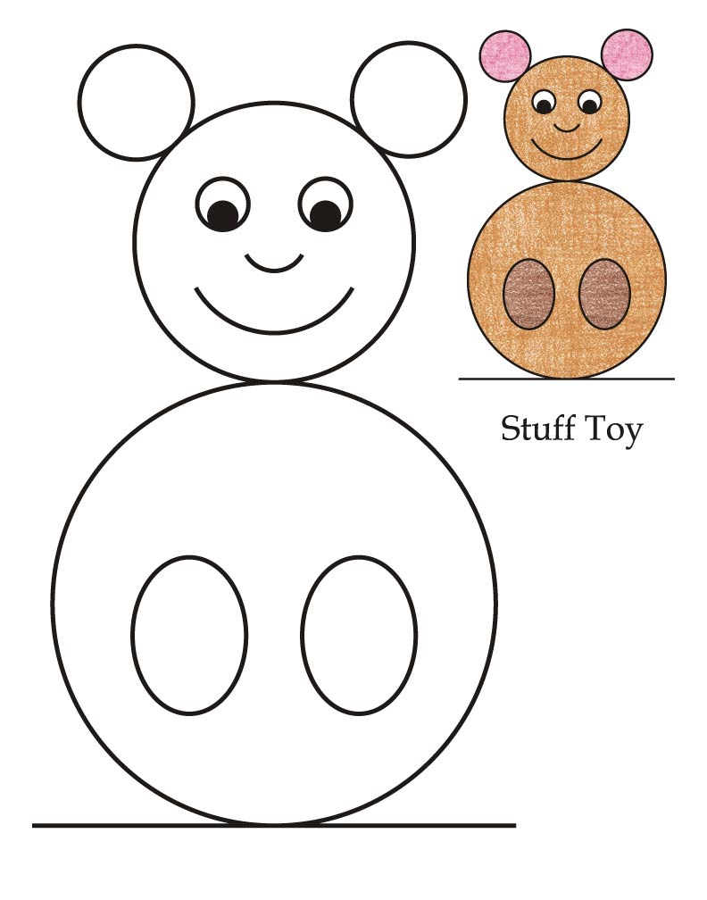 0 level stuff toy coloring page download free 0 level stuff toy