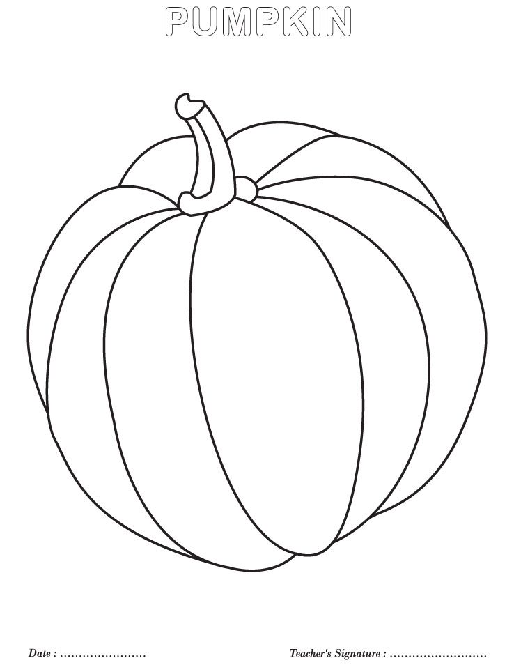 Pumpkin coloring page  Download Free Pumpkin coloring page for