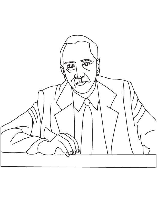 Alexander Fleming coloring pages