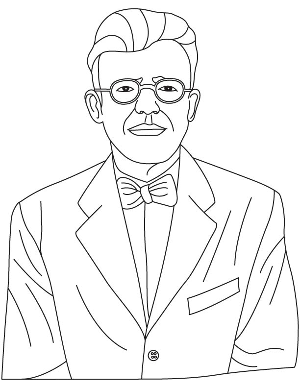 Alfred Kinsey coloring pages