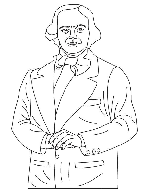 Thomas Saint coloring page