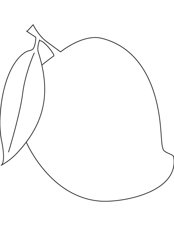 Aa Se Aam Coloring Page