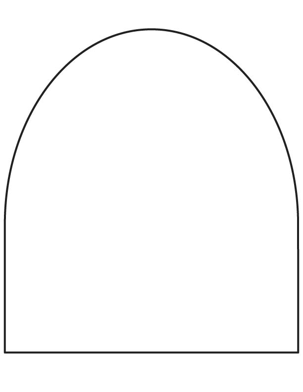 Arch coloring page Download Free