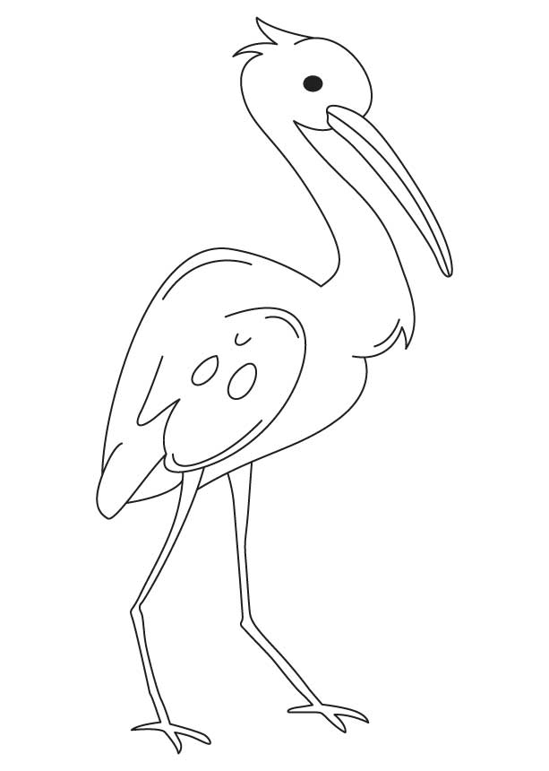 blue heron coloring pages - photo#24