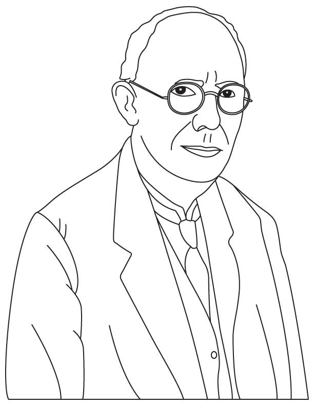 Charles Franklin Kettering coloring pages