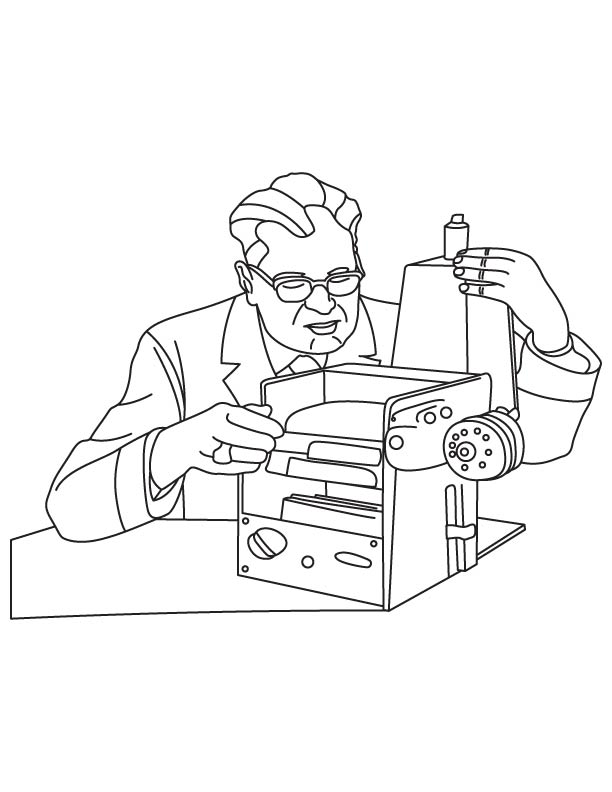 Chester Carlson coloring pages
