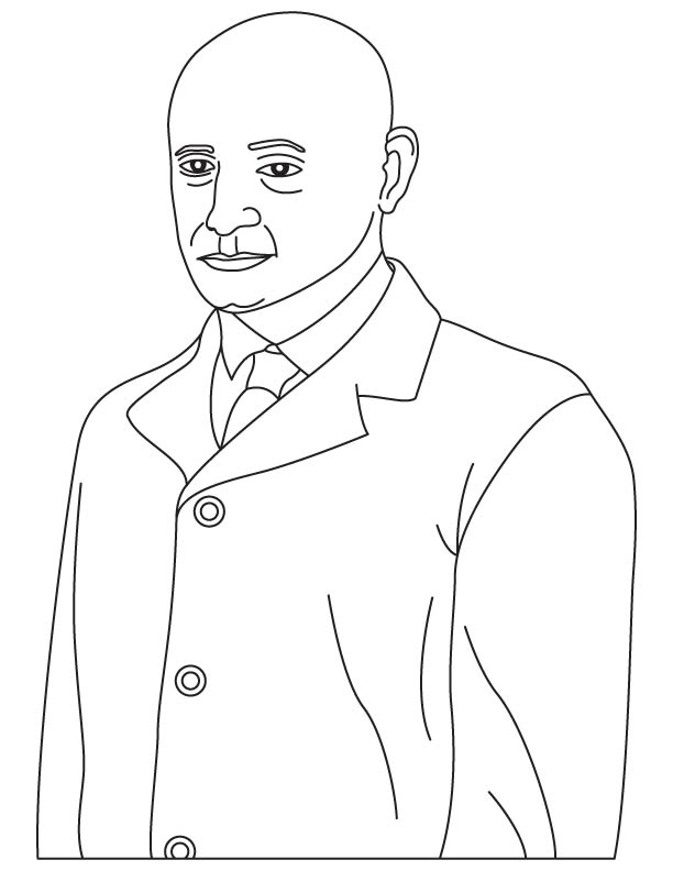 Corradino D Ascanio  coloring pages
