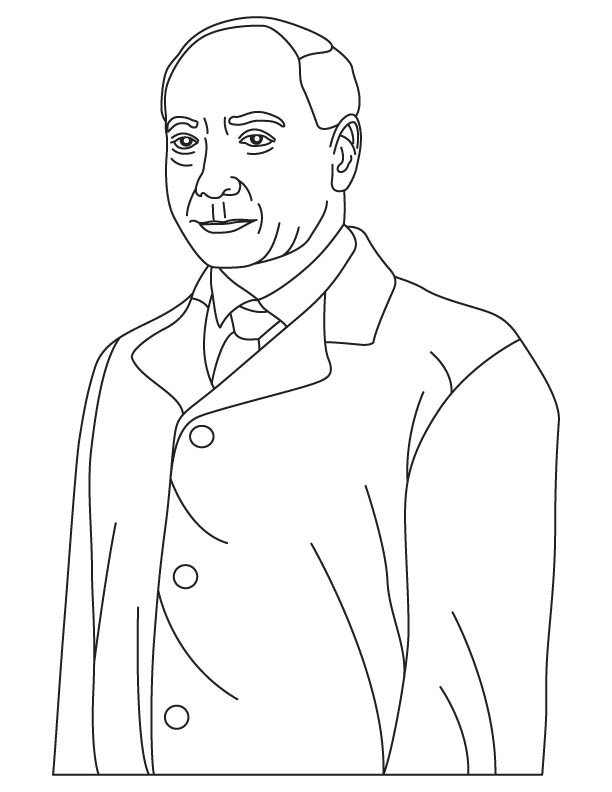 Dr Earl W Sutherland coloring pages