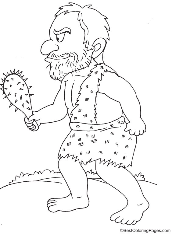 Drunken norse giant coloring pages