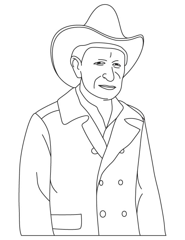 Earl W. Bascom coloring pages