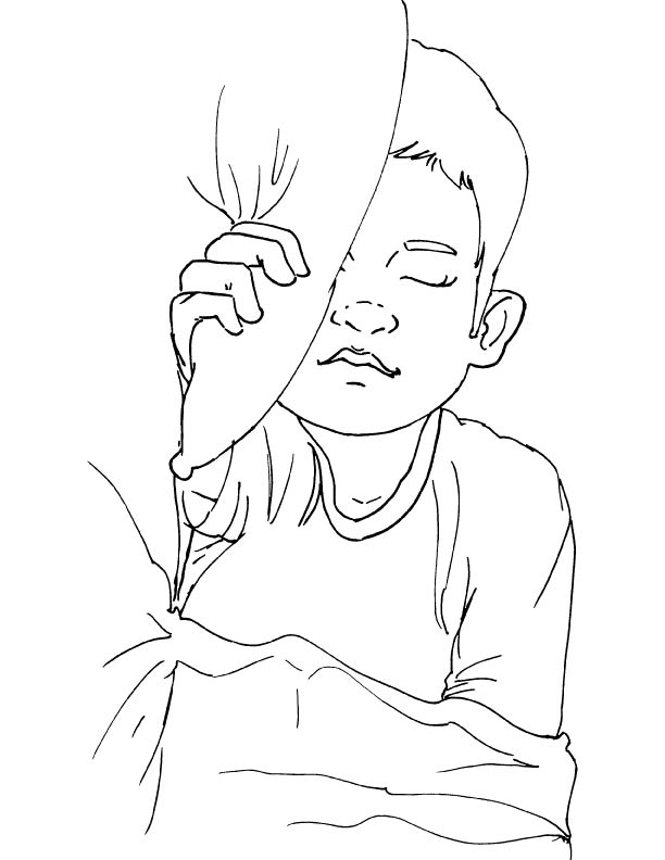 early to bed coloring page download free early to bed coloring