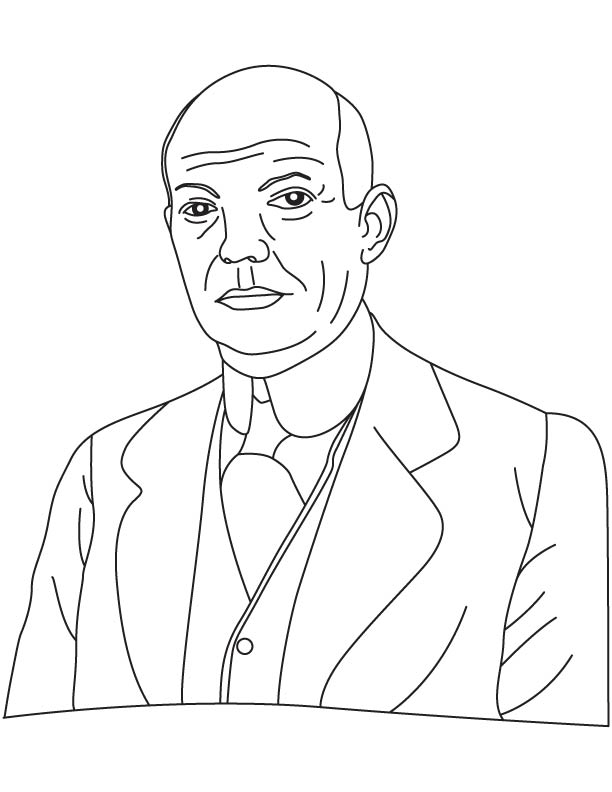 edwin howard armstrong coloring pages