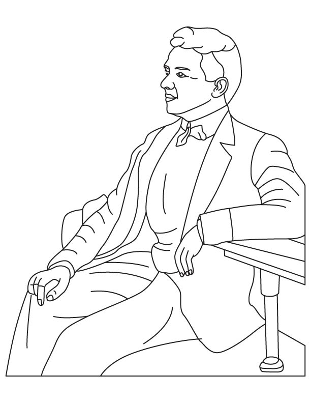 Ernest Beaux coloring pages