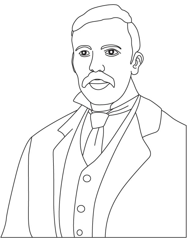 Ernest Rutherford coloring pages