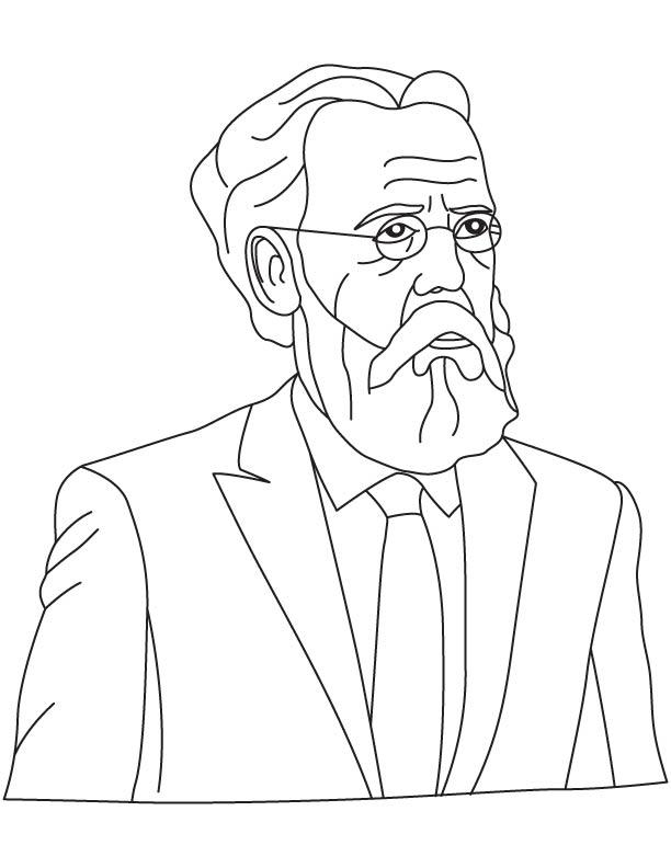 Eugen Baumann coloring pages