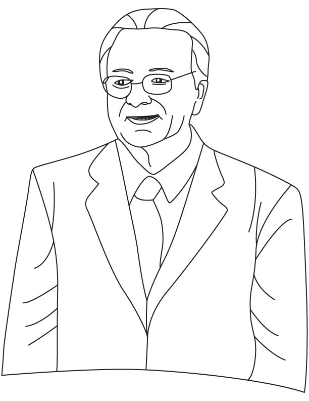 Federico Faggin coloring pages