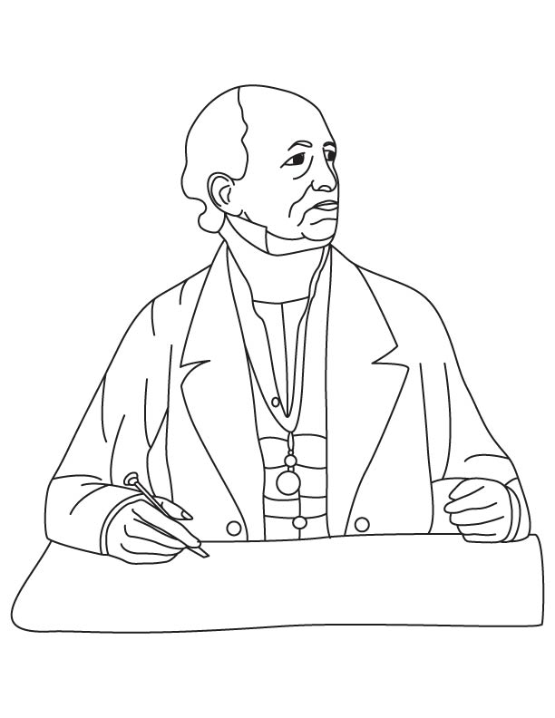 Francis Beaufort coloring pages
