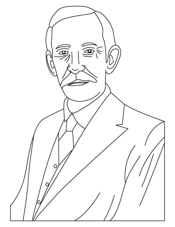 Frederick Gowland Hopkins coloring pages