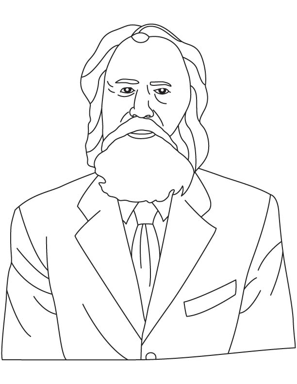 Fyodor Abramovich Blinov coloring pages