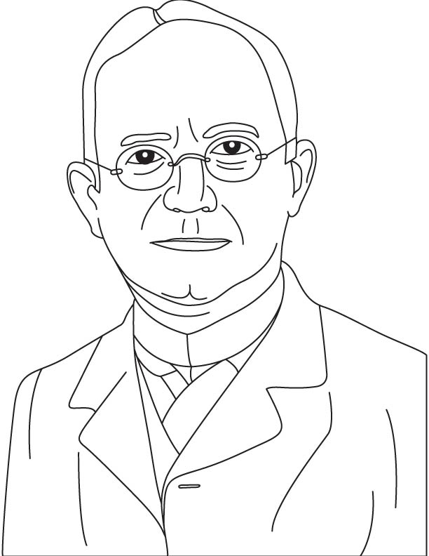 George Eastman coloring pages
