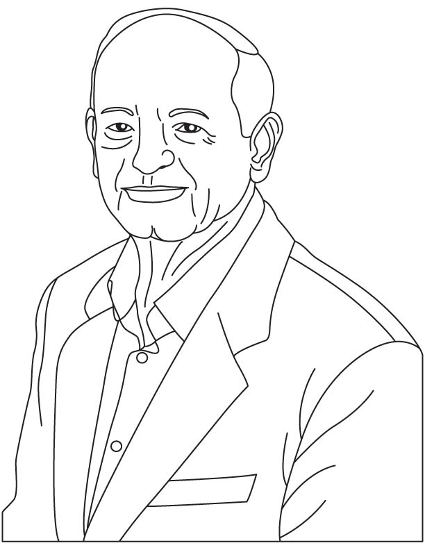 George Harry Heilmeier coloring pages