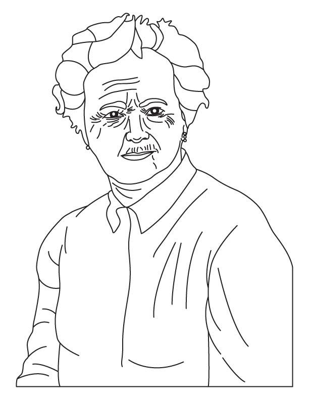 Gertrude Belle Elion coloring pages