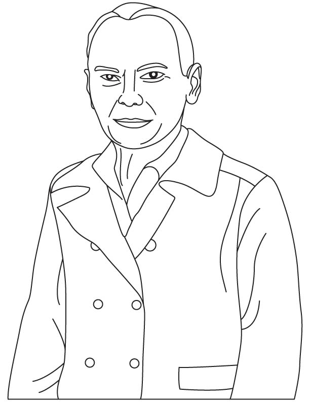 Howard Aiken coloring page
