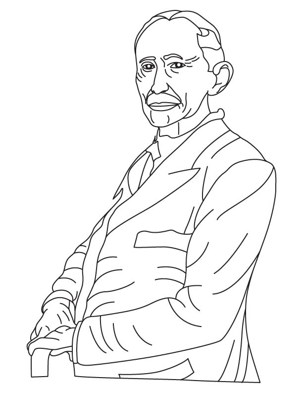 Hubert Cecil Booth coloring pages