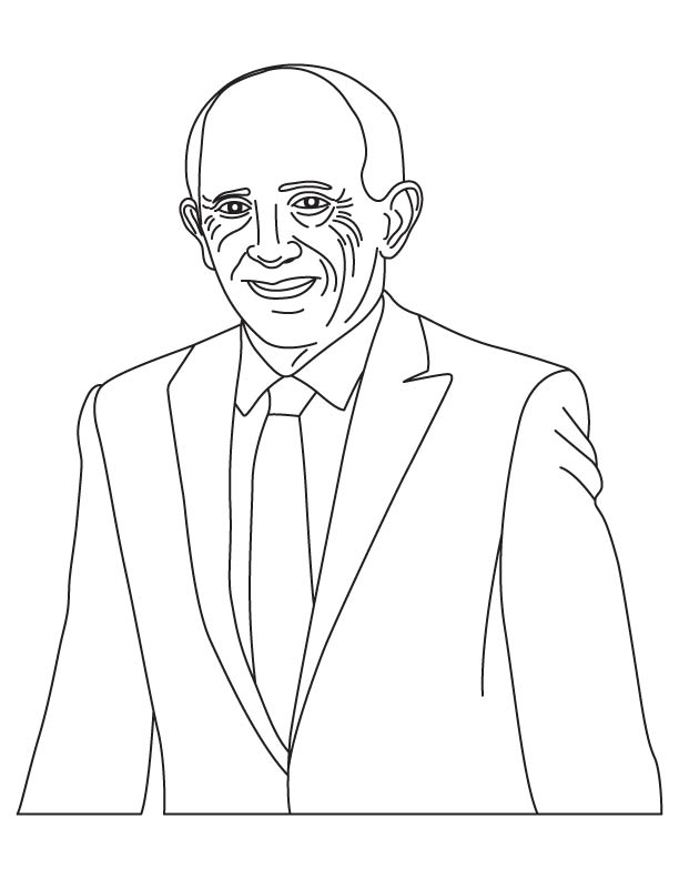 Jerome Hal Lemelson coloring page