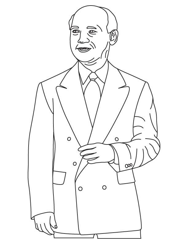 John Adam Presper coloring page
