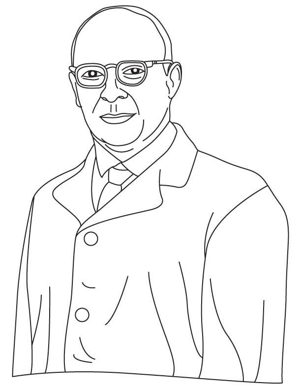 John Bardeen coloring page