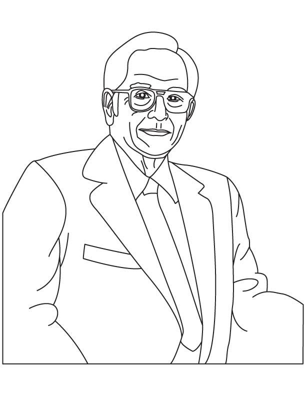 John Vincent Atanasoff coloring page