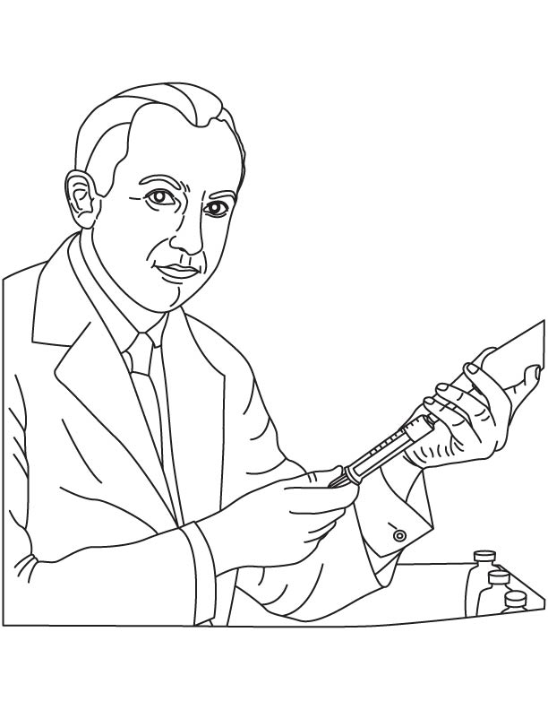Jonas edward salk coloring page download free jonas for Jonas coloring pages