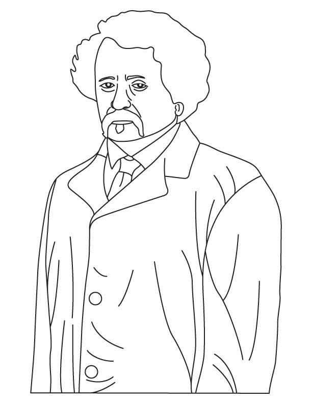Joseph Aspdin coloring page