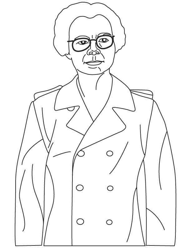 Katharine Burr Blodgett Coloring Pages