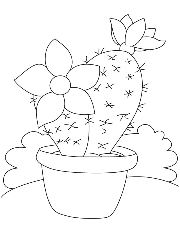 big flower coloring pages - photo#33