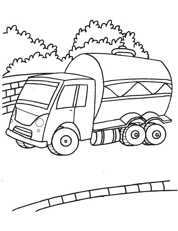 oil tanker coloring pages - photo #6