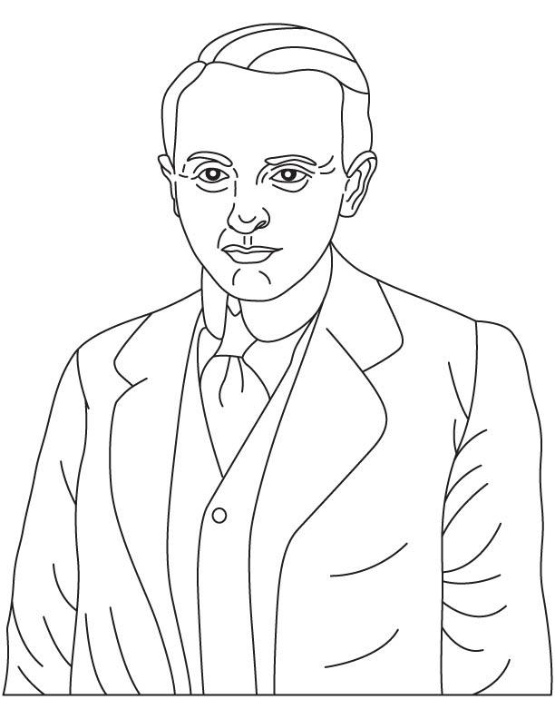 Laszlo Biro coloring pages