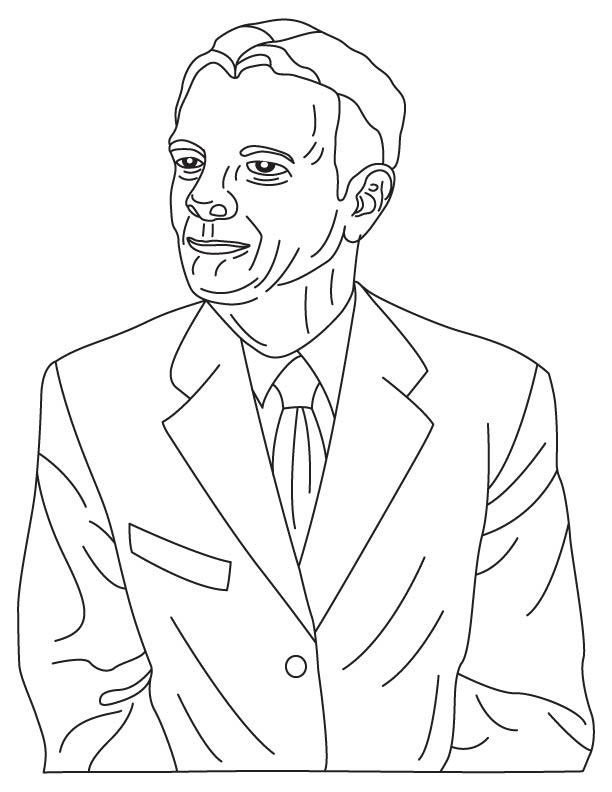 Lev Artsimovich coloring page