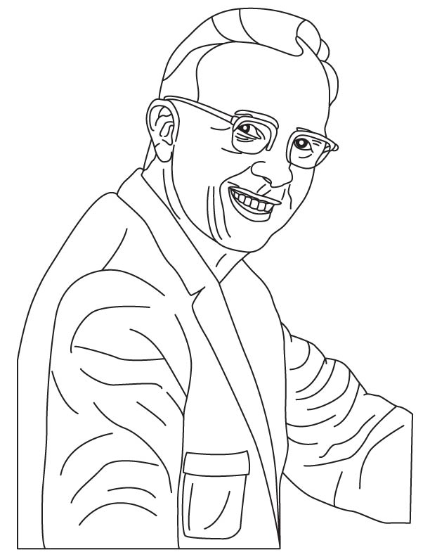 Luis W Alvarez coloring pages