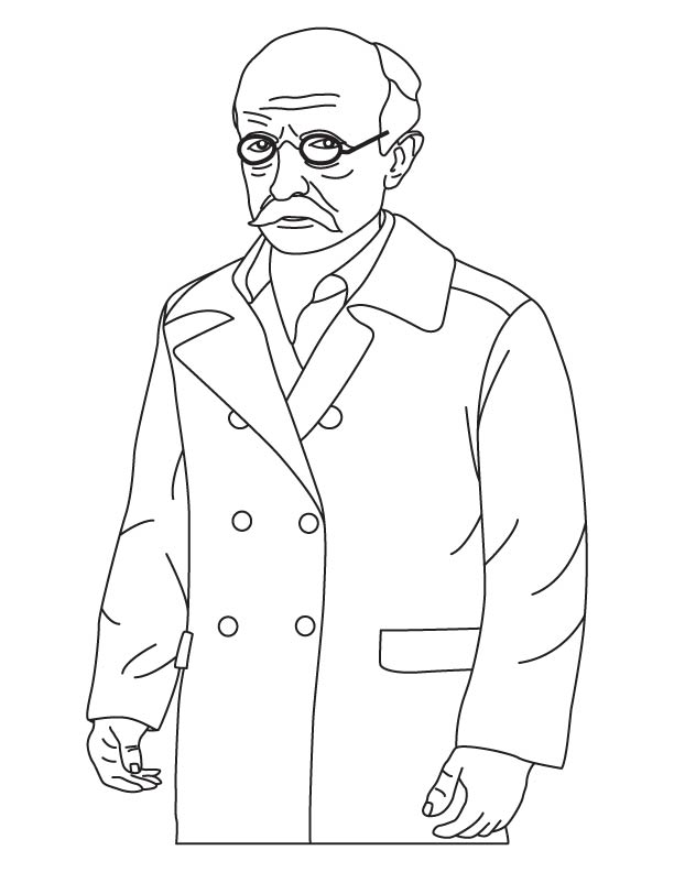 Max Planck coloring pages
