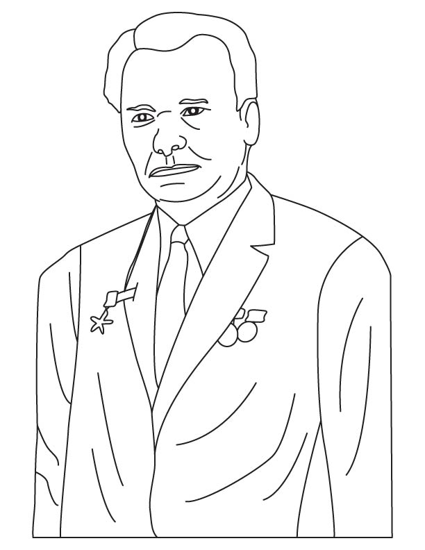 Mikhail Timofeyevich Kalashnikov coloring pages